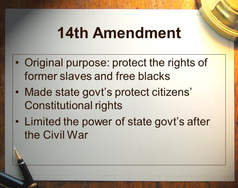 Due Process Clause 5th Amendment